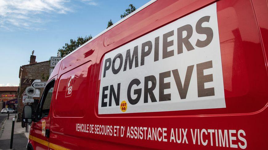Les pompiers ont entamé fin juin un mouvement de grève.