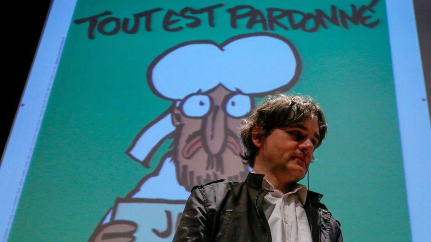 Le directeur de Charlie Hebdo, Riss.