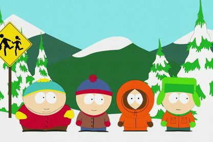 "Cartman, Stan, Kenny et Kyle, les quatre héros de ""South Park"""