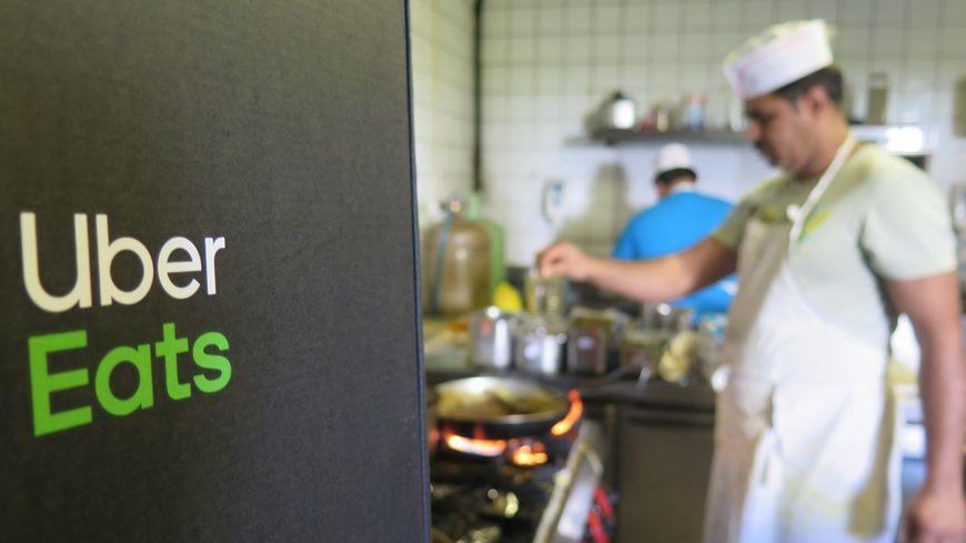 En Dordogne, l'application Uber Eats était déjà disponible à Périgueux.