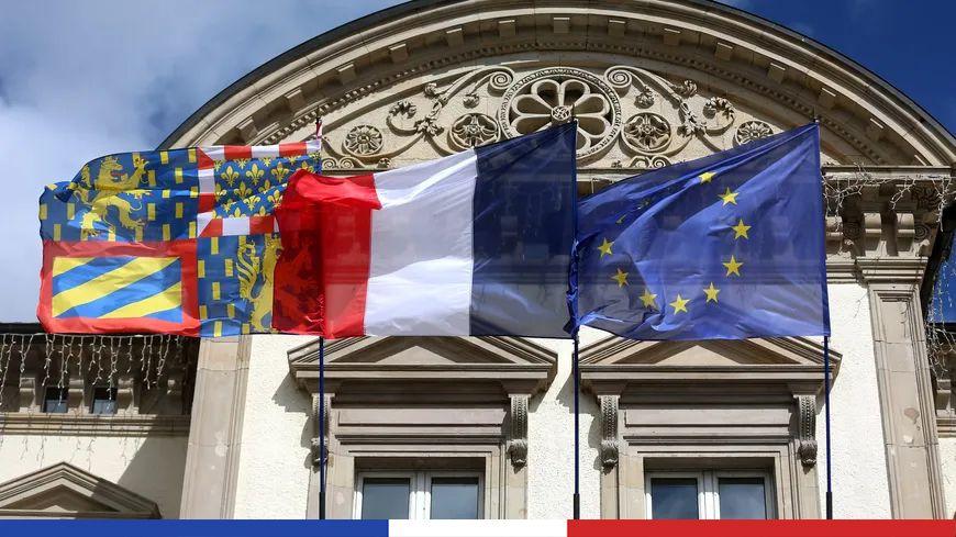 La façade d'une mairie en Bourgogne Franche Comté - photo d'illustration