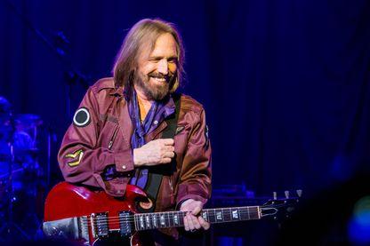 Tom Petty and the Heartbreakers en concert le 24 août 2014 à Clarkston, dans le Michigan.