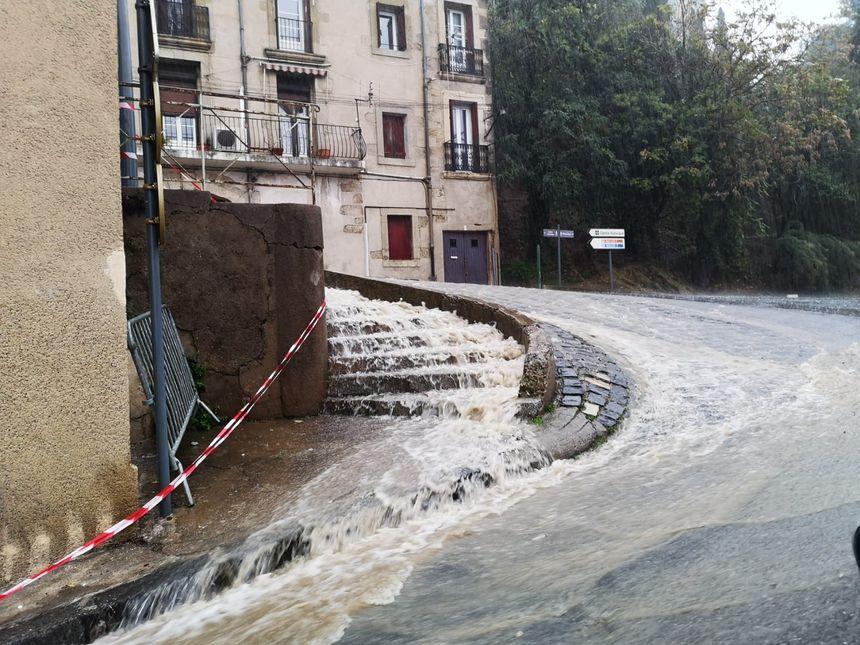 Intempéries à Béziers.