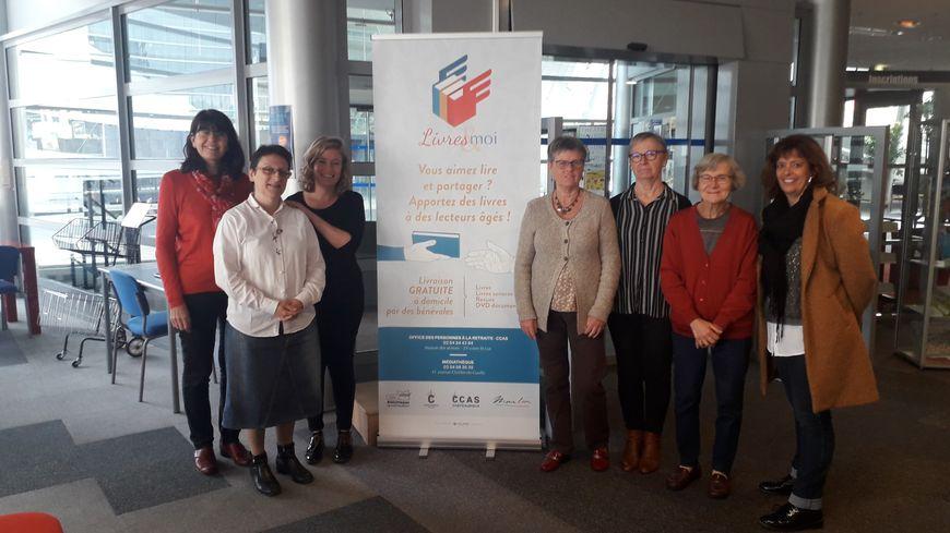 """Au total, à Châteauroux, 17 bénévoles participent au dispositif """"Livres & moi"""""""