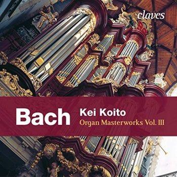 CD Kei Koito Organ Masterworks, vol. 3