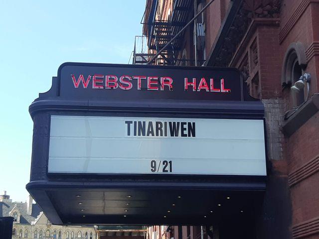 Tinariwen au Webster Hall à New York