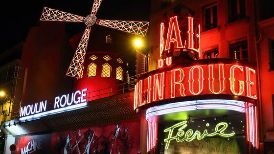"""Le Moulin Rouge et sa revue """"Féerie"""""""