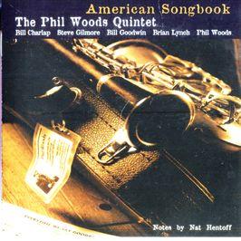 """Pochette de l'album """"American songbook"""" par Phil Woods"""