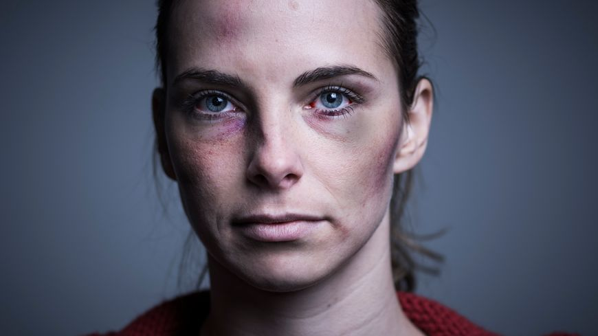 femme battue