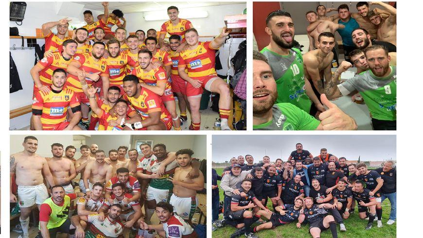 Les espoirs de l'USAP, les handballeurs de Thuir, les quinzistes du FLHV et les treizistes de Pia à la fête