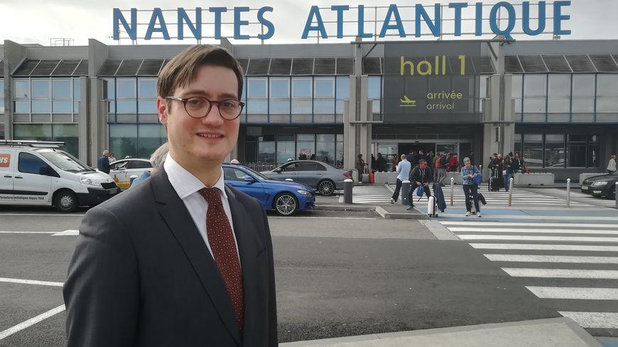 Cyril Girot, le nouveau directeur de l'aéroport Nantes Atlantique.