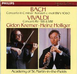 Concerto en ut min BWV 1060 pour violon hautbois cordes et continuo : I  allegro - GIDON KREMER