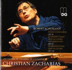 Concerto en la min op 54 pour piano et orchestre : I allegro affettuoso - CHRISTIAN ZACHARIAS