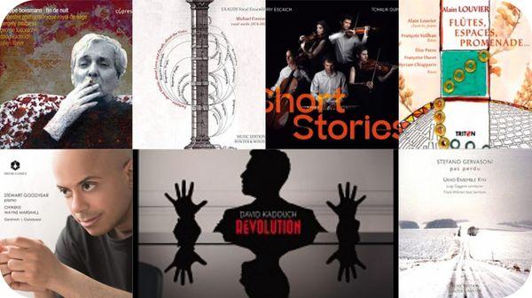 Actualité CD de la création : Stewart Goodyear, Thierry Escaich, Stefano Gervasoni, Alain Louvier, Boesmans