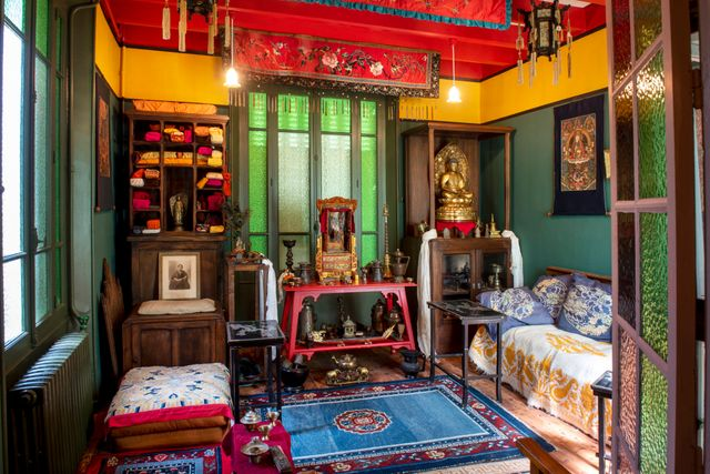 La maison d'Alexandra David Neel à Digne les bains.