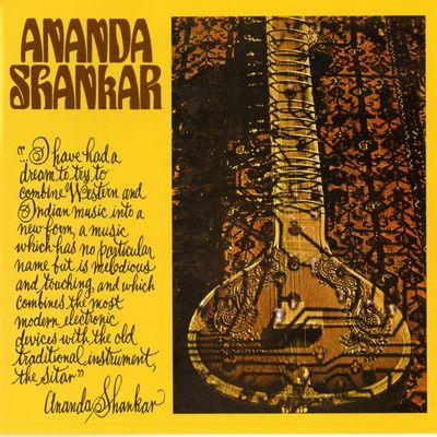 """Pochette de l'album """"Snow flower"""" par Ananda Shankar"""
