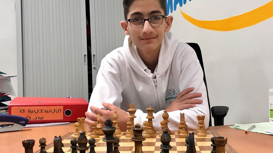 Davit Avanesyan est l'un des plus grands espoirs des échecs à Marseille
