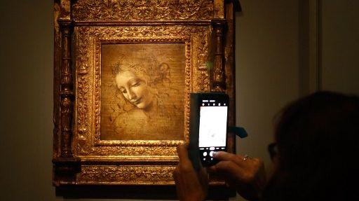 Léonard de Vinci à Paris