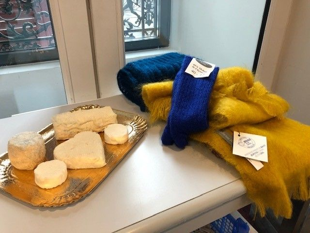 Mohair et fromage