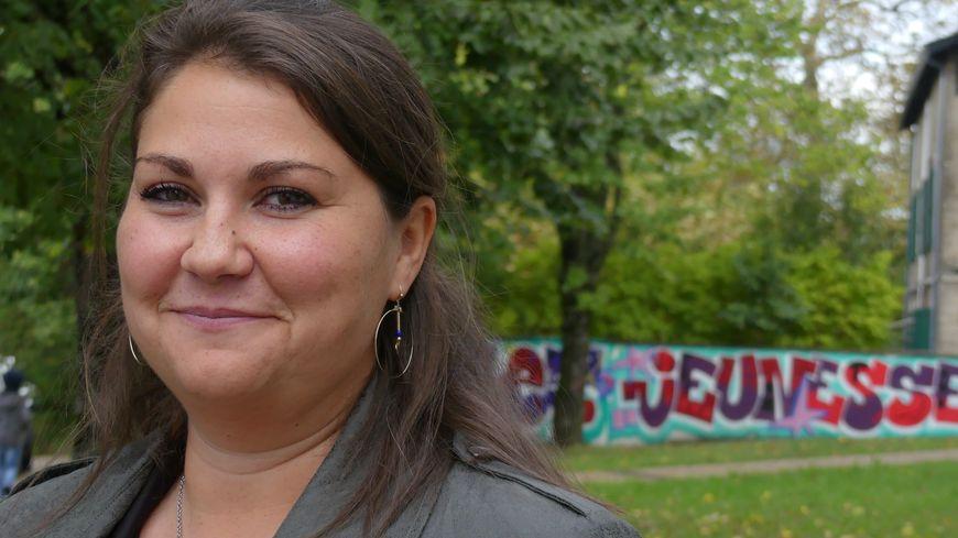 "La candidate de ""Vivement Anglet"" Sandrine Derville"