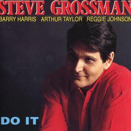 """Pochette de l'album """"Do it"""" par Steve Grossman"""