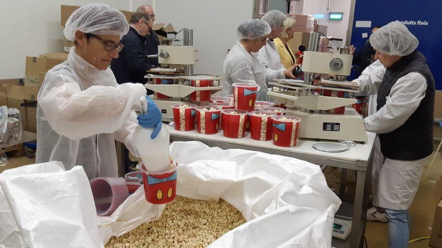 L'entreprise manchoise Finger Foods fournit en pop-corn la plupart des grands parcs d'attractions en France mais aussi en Belgique eg en Espagne