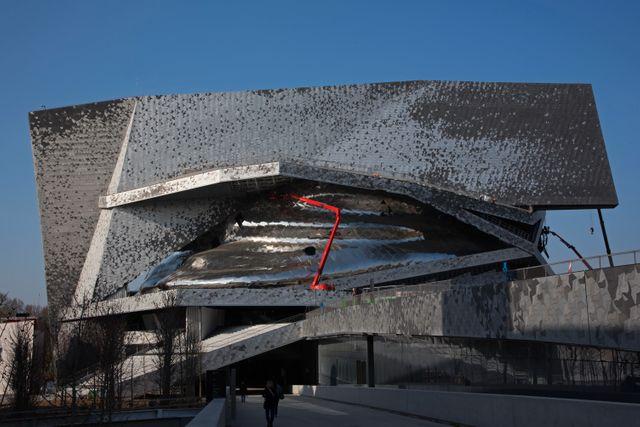 La Philharmonie de Paris, dans le parc de la Villette, a été inaugurée en janvier 2015.
