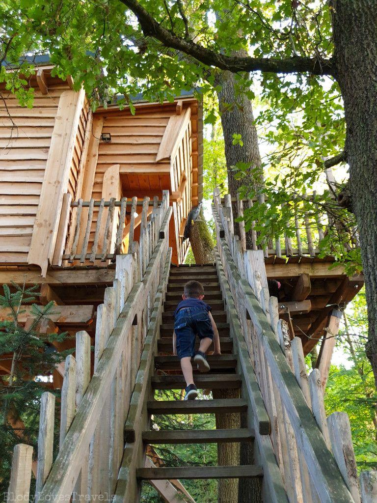 Une cabane perchée dans les arbres, c'est le monde de Charlie à Vichy - Site Elodylovestravels