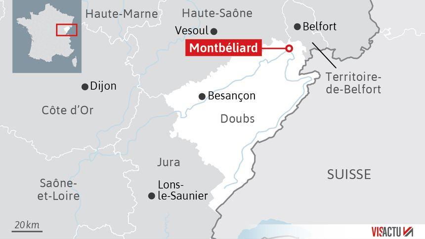 Une fillette de 9 ans meurt après une chute du 7e étage à Montbéliard (Doubs)