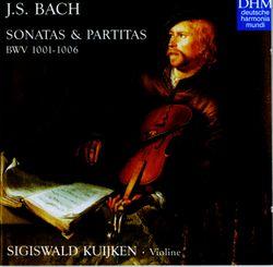 Sonate en ut majeur BWV 1005 /  Allegro assai - SIGISWALD KUIJKEN