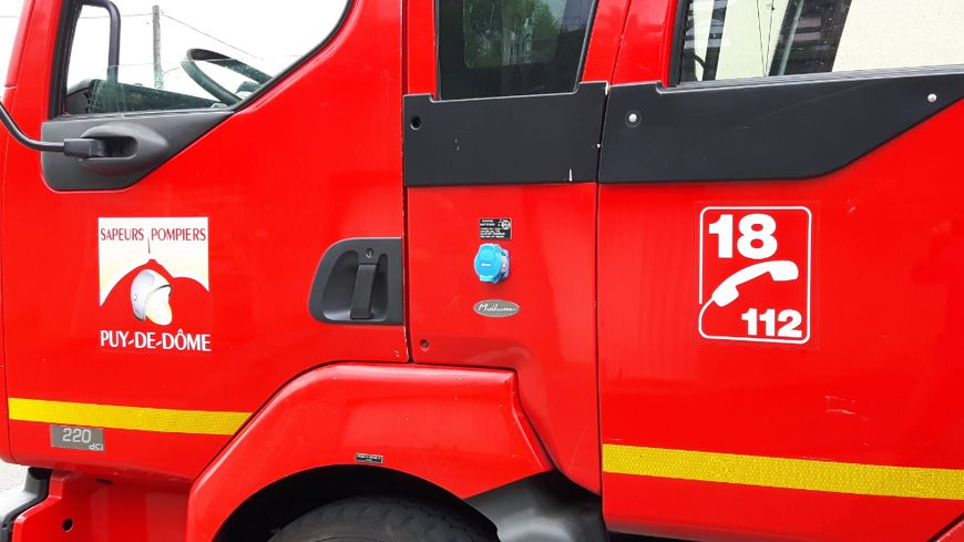 Photo d'illustration : véhicule de pompiers du Puy-de-Dôme