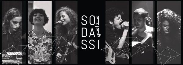 Les artistes de Sodassi : Sama Abdul Hadi (Ramallah), Dina El Wedidi (Le Caire), Ayed Fadel (Haifa), Maya Khalidi (Jérusalem Est), Rasha Nahhas (Haifa) et Youmna Saba (Beirut).
