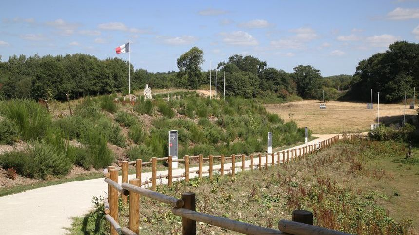 La carrière des Fusillés à Châteaubriant