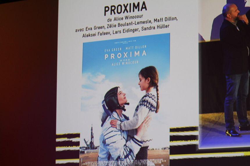 """Le film """"Proxima"""" projeté en ouverture du Festival du Film de Sarlat"""