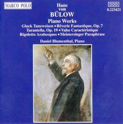 Arabesques pour piano sur un thème de Rigoletto de Verdi op 2 - DANIEL BLUMENTHAL