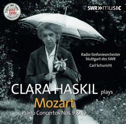Concerto n°9 en Mi bémol Maj K 271 Jeunehomme : Rondeau : Presto - CLARA HASKIL