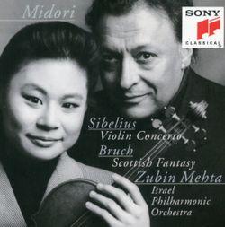 Fantaisie écossaise op 46 : Adagio cantabile - pour violon harpe et orchestre - MIDORI