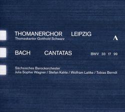 Cantate BWV 99 : Erschüttre dich nur nicht verzagte Seele (Air ténor) - WOLFRAM LATTKE