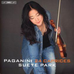 Caprice pour violon en la min op 1 n°24 - SUEYE PARK