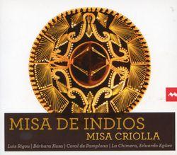 Misa criolla : Gloria - arrangement pour solistes choeur mixte et ensemble instrumental - LA CHIMERA