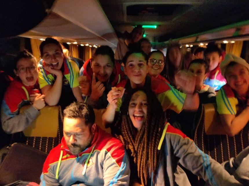 Un voyage retour heureux pour les Déesses catalanes