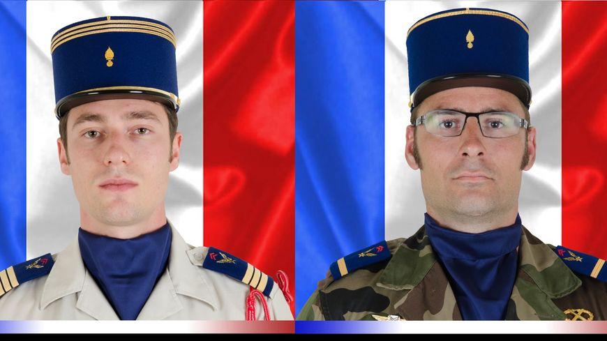 Clément Frison-Roche (à gauche) et Julien Carrette (à droite) sont tous les deux originaires du Lot-et-Garonne.