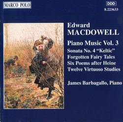 Forgotten fairy tales op 4 : 4. From dwarf-land - pour piano - JAMES BARBAGALLO