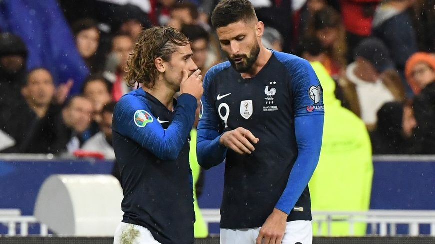 Olivier Giroud devrait être aligné en attaque avec Antoine Griezmann en soutien