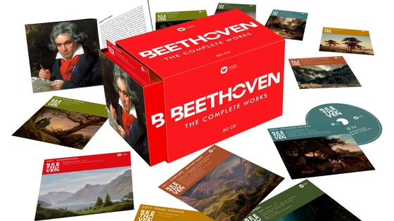 Coffret Beethoven - The Complete Works (80 CD)