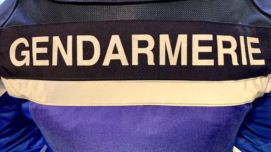 Gendarmerie blouson motard logo