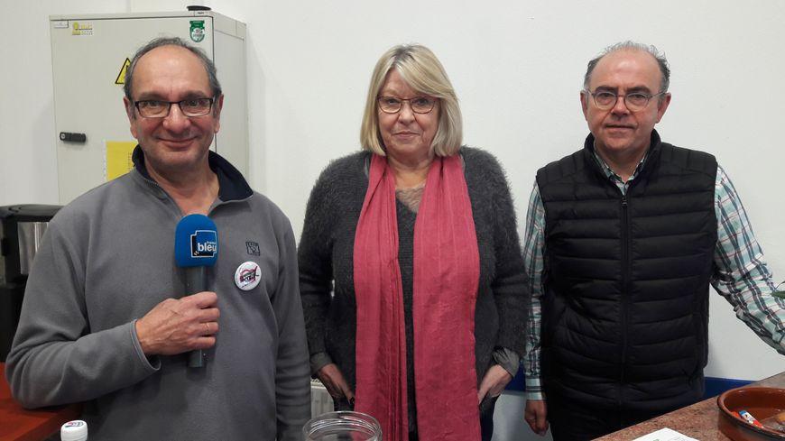 Des bénévoles du nouveau centre de distribution à Toulouse (centre du Séminaire)