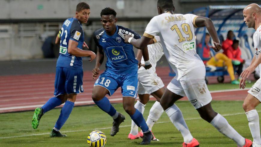 Les Chamois niortais ont déjà rencontré à deux reprises Châteauroux cette saison comme ici, au premier tour de la Coupe de la Ligue