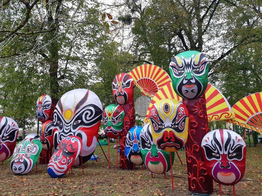 Des centaines de décors dans le Parc Foucaud