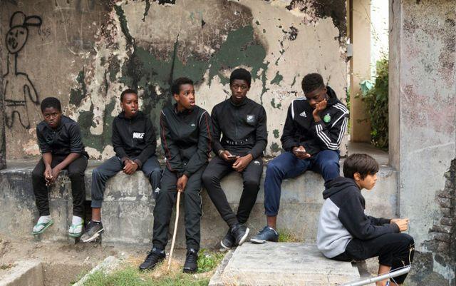 """Photo issue du film """"Les misérables"""" de Ladj Ly"""
